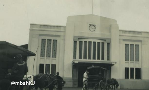 Stasiun Toegoe 1935