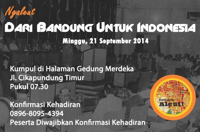 Dari Bandung Untuk Indonesia