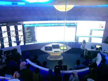 Bandung Command Center (Foto: detik.com)