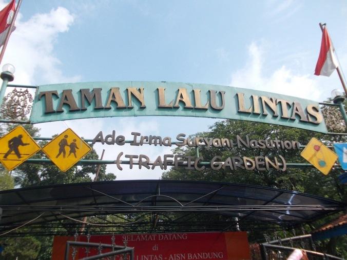 Taman Lalu Lintas Ade Irma Suryani (Foto: Irfan Teguh Pribadi)