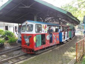 Kereta Api Legendaris di Taman Lalu Lintas (Foto: Irfan Teguh Pribadi)