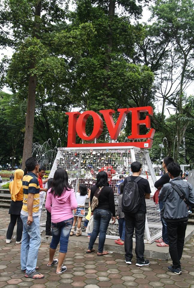 Gembok Cinta (Foto: Arya Vidya Utama)