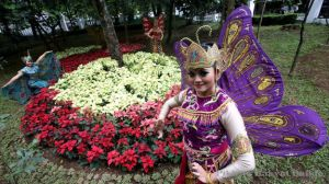 Foto Taman Kandaga Puspa Saat Diresmikan (Foto: Pikiran Rakyat Online