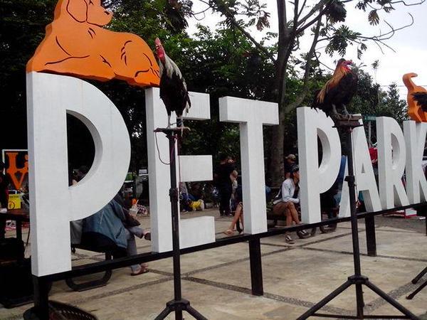 Pet Park Bandung (Foto: Komunitas Aleut)