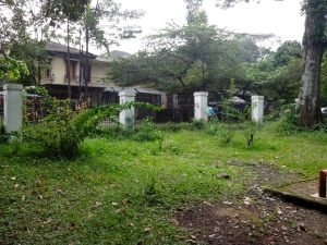 Sisi Utara Taman Kandaga Puspa yang  Kurang Terawat (Foto: Arya Vidya Utama)