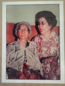 Inggit dan Fatmawati, setelah sekian lama tak bertemu