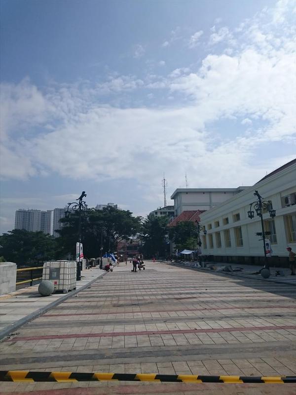 Keadaan Jl. CIkapundung Timur