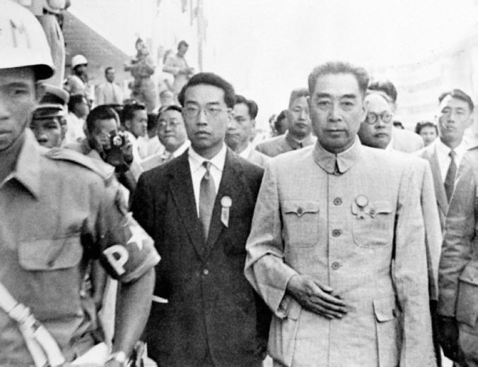 Chou En Lai ketika Konferensi Asia-Afrika 1965