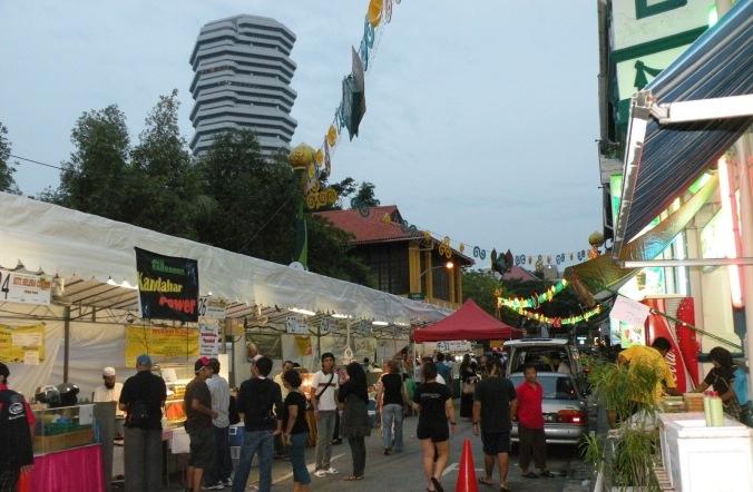 Suasana Bazaar Ramadhan @ Mesjid Sultan