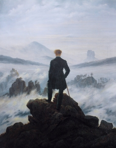 Wanderer Above the Sea of Fog – David Caspar Friedrich