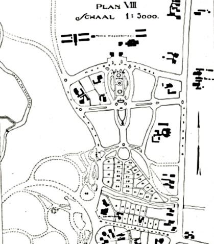Peta Kawasan Plan VIII di Sekitar ITB