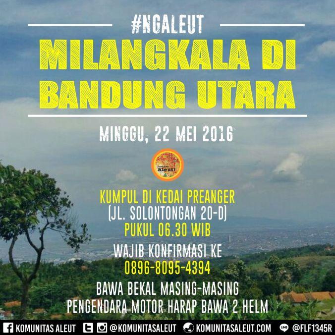 2016-05-22 Milangkala di Bandung Utara