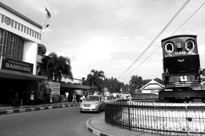 Stasiun Bandung Pintu Selatan (Foto oleh Frans Ari Prasetyo 25 Feb 2016)