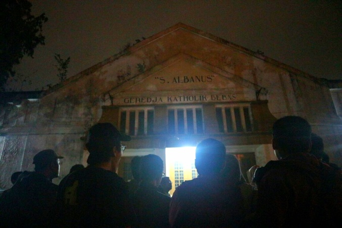 Gereja Albanus, Malam Mencekam Dalam Wisata Legenda Urang Bandung