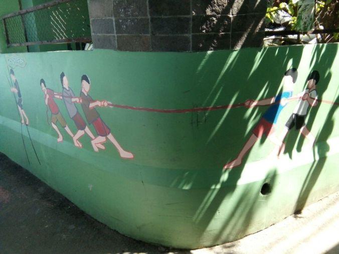 Mural di Kampung Warna Cibunut