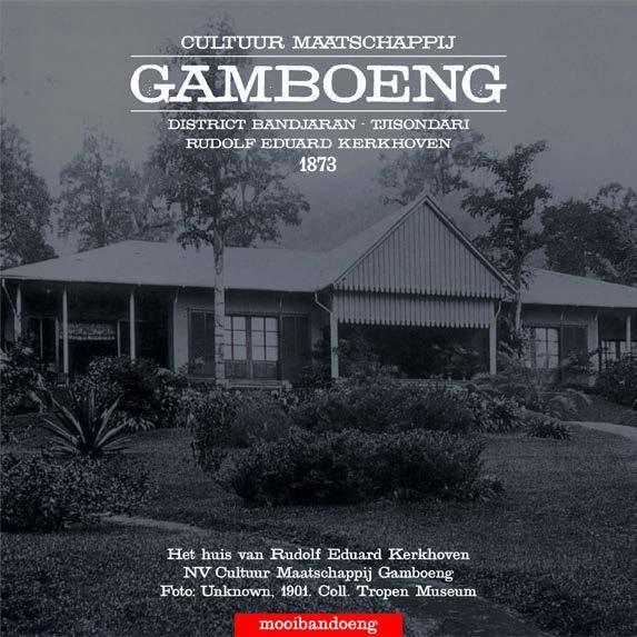 Rumah administratur perkebunan Gambung (@mooibandoeng)