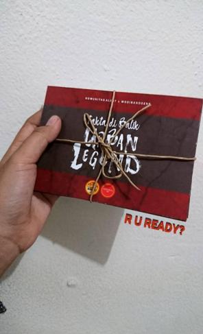 Booklet Urban Legend Tour