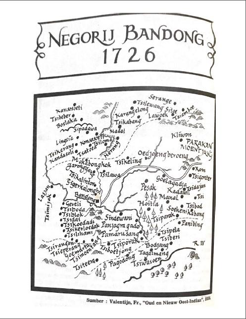 Negorij Bandong 1726